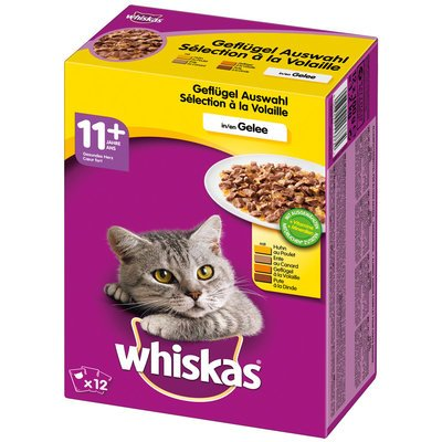 Whiskas Katzen Nassfutter 11+ im Multipack Preview Image