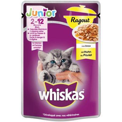 Whiskas Katzenfutter Junior Ragout in Gelee Preview Image