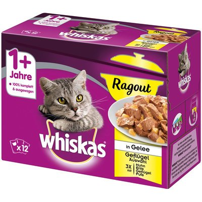 Whiskas Portionsbeutel Adult 1+ Ragout in Gelee Preview Image