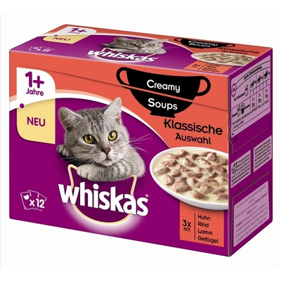 Whiskas Portionsbeutel Multipack 1+ Creamy Soups Preview Image