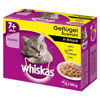 Whiskas Portionsbeutel Multipack 7+ Senior Katzenfutter Preview Image
