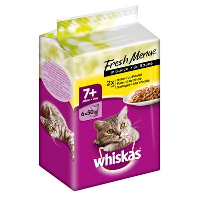 Whiskas Senior 7+ - Fresh Menue in Sauce Preview Image
