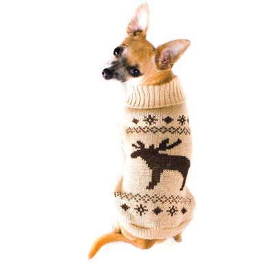 Wolters Strickpullover für Hunde mit Elch Motiv Preview Image