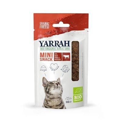 Yarrah Bio Katzensnacks Mini getreidefrei Preview Image