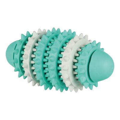 TRIXIE Zahnpflege Mintfresh Rugbyball für Hunde Preview Image