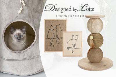 Designed By Lotte Katzenzubehör