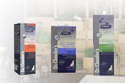Dr. Clauders Ergänzungsfuttermittel für Hunde