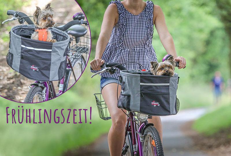 Fahrradzubehör für Hunde