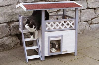 Outdoor Katzenhäuser