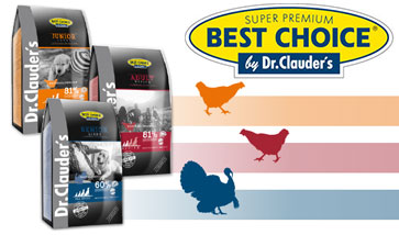 Best Choice Hundefutter by Dr. Clauder