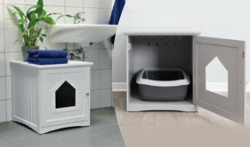 Katzenhygiene Katzentoiletten Katzenstreu