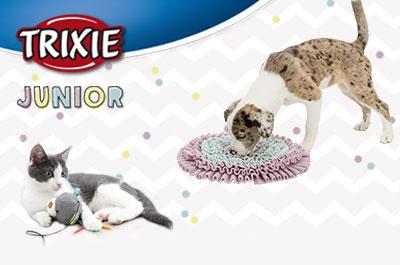 TRIXIE JUNIOR für Welpen und Kitten
