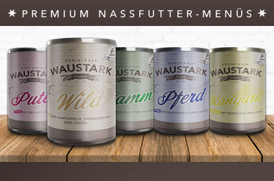 WAUSTARK Premium Hunde-Nassfutter
