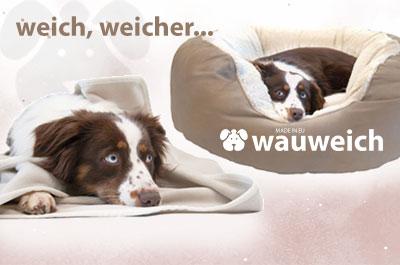 wauweich Hundeschlafplätze made in EU