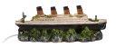 Aqua Della Titanic Schiffswrack Aquarium Deko 39x11x14cm