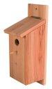 Bausatz Nistkasten für Vögel, Vogelhaus selbst bauen Meisenkasten, 12 x 12 x 26 cm, Holz