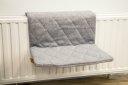 Beeztees Katzen Heizungsliege Jersey 40 x 30 x 25 cm, grau