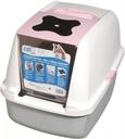 Catit Katzentoilette mit Abdeckung pink