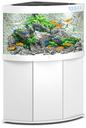 Juwel Trigon 190 LED Eck-Aquarium mit Unterschrank 190 Liter, weiß