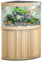 Juwel Trigon 190 LED Eck-Aquarium mit Unterschrank 190 Liter, helles Holz