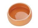 Keramik Futtertrog Napf 125 ml, orange