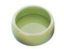Keramik Futtertrog Napf 125 ml, grün