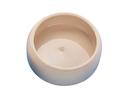 Keramik Futtertrog Napf 125 ml, beige