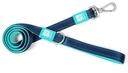 Max & Molly Matrix Kurzleine XS: Länge 120 cm Breite 1,0 cm, Sky Blue