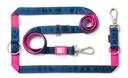 Max & Molly Matrix Multifunktionsleine für Hunde XS - 200 x 1 cm, Pink