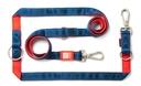 Max & Molly Matrix Multifunktionsleine für Hunde XS - 200 x 1 cm, Red