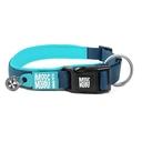 Max & Molly Matrix Smart ID Hundehalsband XS: Halsumfang 22 - 35 cm, Breite 1 cm, Sky Blue