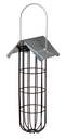 Meisenknödelhalter aus Metall zum Aufhängen 11 × 25 × 10 cm, schwarz