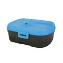 Mobiler Hunde Trinkbrunnen anthrazit/blau - 6 Liter