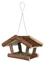 Trixie Vogelhaus aus Naturholz Futterhaus 32 × 23 × 20 cm