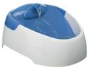 Wasserautomat für Hunde und Katzen Duo Stream weiß/blau, 1l Fassungsvermögen